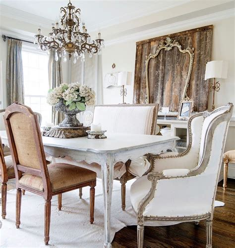 charming french country dining rooms