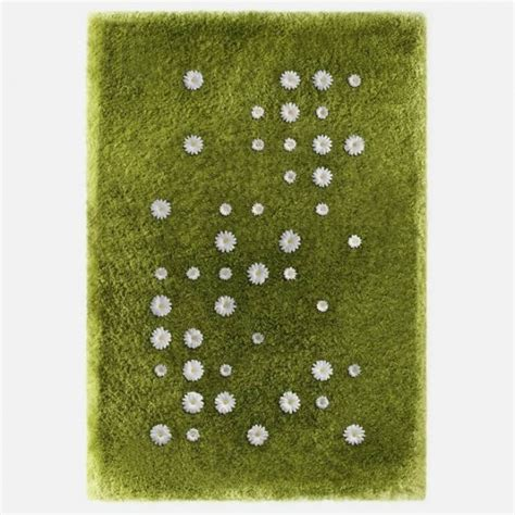 Beautiful Interactive Rug With Customizable Daisy Flowers Interactive Rugs