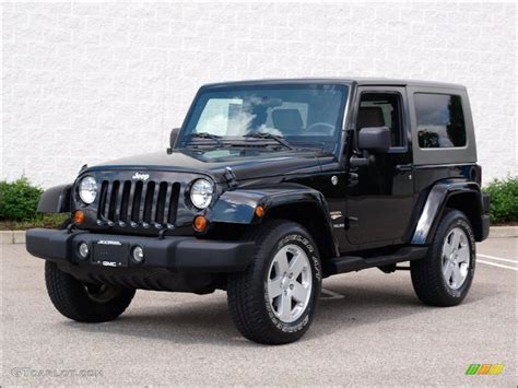Black Jeep 4x4 Black 2007 Jeep Wrangler 4x4 Exterior Photo