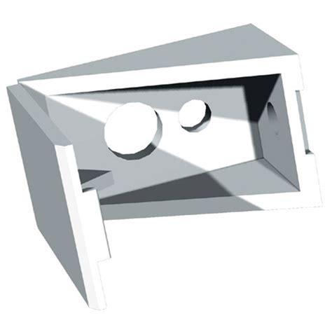 Plastic Shelf Bracket Supports by Quot Economy Quot Plastic Shelf Supports 8 Pack Rona