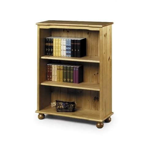 cheap julian bowen oxford solid pine bookcase for sale