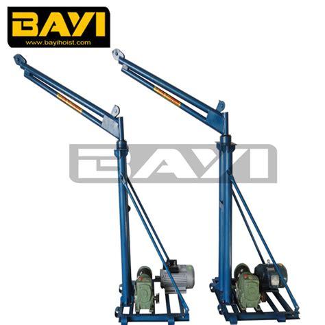 swing crane cantilever swing arm jib crane electric mobile crane winch