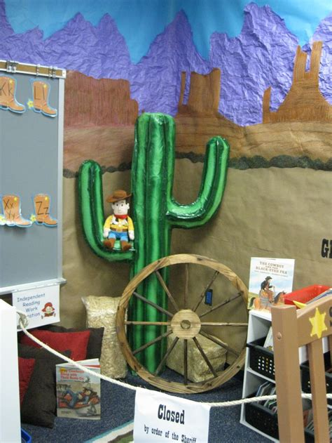 Cowboy Door Decorations by Classroom Western Theme Bulletin Board Door Decorations