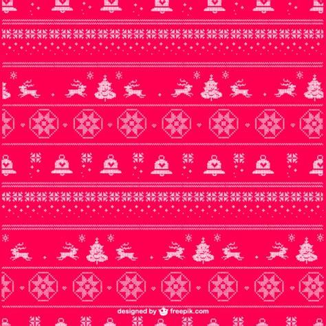 christmas patterns early years christmas knitting pattern vector vector free download