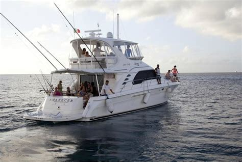 captain ron fishing boat beeracuda fishing trip picture of captain ron s cozumel