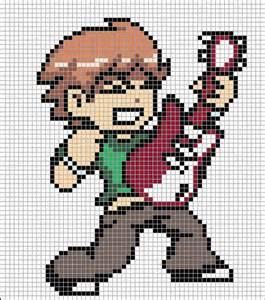 scott pilgrim general pixel art to do pinterest