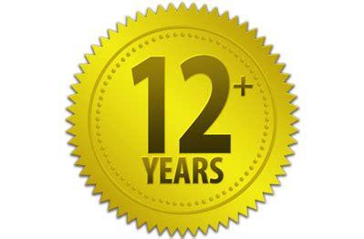 12 in years 12 years one rambling
