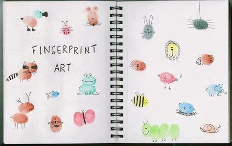 biometric art finger print crafts