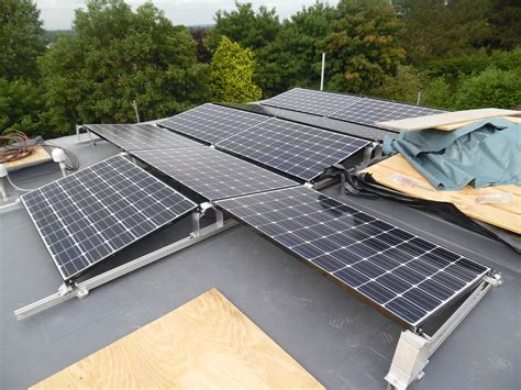 solar panels on roof solar panels on small flat roofs solar roof installations
