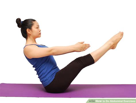 3 ways to do abdominal exercises wikihow