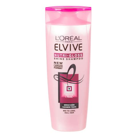 Loreal Elvive b m l oreal elvive nutri gloss shine shoo 500ml