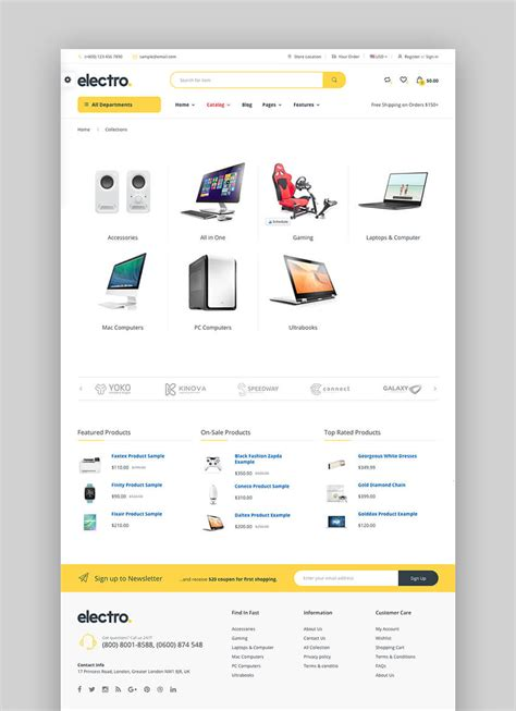 best shopify themes electronics 18 best shopify themes with responsive designs for 2018