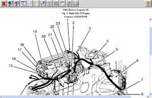 Daewoo Lanos Engine Diagram 2002 Daewoo Leganza Engine Diagram 2002 Free Engine