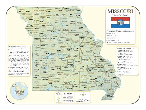 missouri map cities and counties missouri counties map with cities