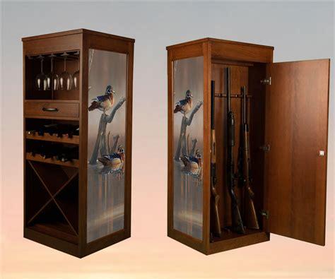 wood clean easy next rustic wood gun cabinet