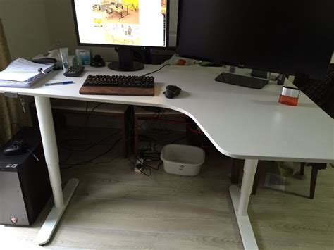 ikea bekant corner desk the best of ikea stand up desk ideas tedx decors