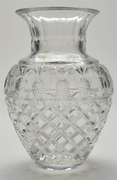 Lead Vase by Fifth Avenue Lead Georgetowne 9 Quot Vase Mouthblown Handcut