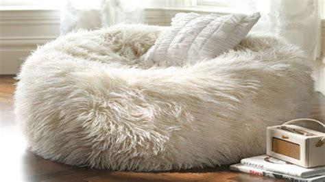 Fuzzy White Chair by Design Ideas For Fuzzy Bean Bag Chair Fur Bean Bag Bean