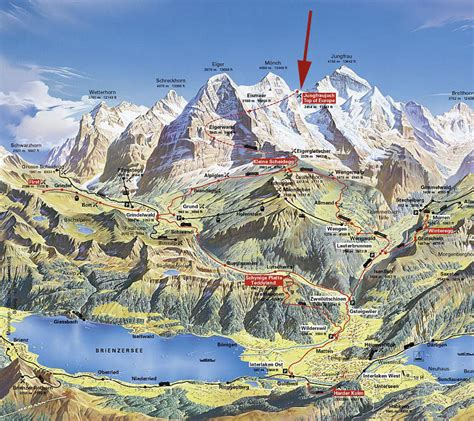 swiss alps grindelwald hiking map kleine scheidegg map swiss alps