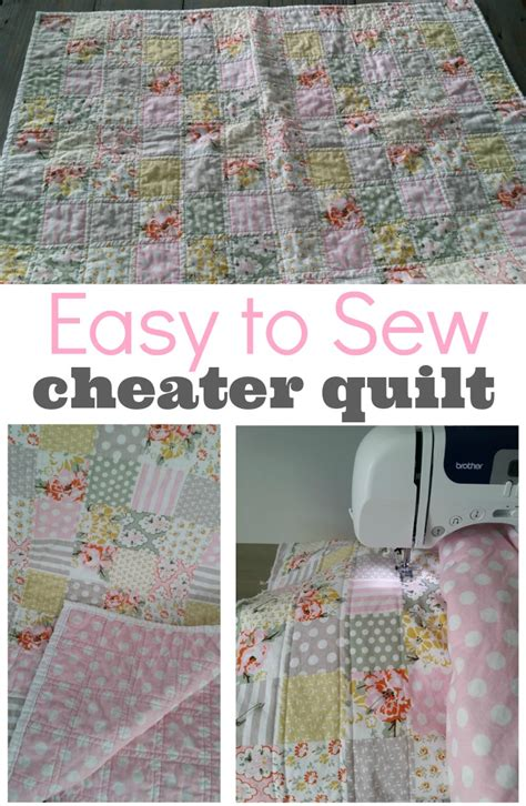 Type Of Quilt by Cheater Baby Quilt Tutorial This Type Of Quilt Is Great