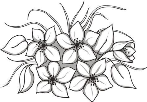imagenes de flores grandes para pintar en tela dibujos de flores para imprimir y pintar las