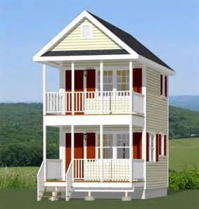 Small House Kits Nh 12x16 Tiny House Pdf Floor Plan 364 Sq Ft