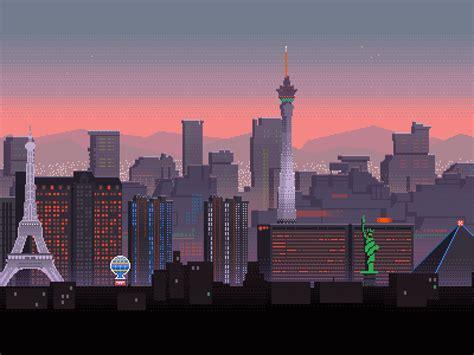 awesome pixel art illustrations  gustavo viselner