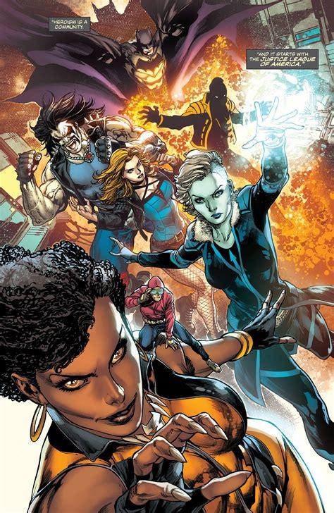 dc comics rebirth spoilers justice league of america dc comics rebirth spoilers review batman s justice league of america rebirth 1 teases 4 big