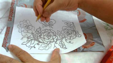 imagenes para pintar manteles dibujar una servilleta quot sobre el bordado quot youtube