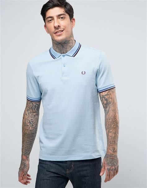 fred perry twin tipped fred perry inky blue girl polo fred perry fred perry slim pique polo shirt twin tipped