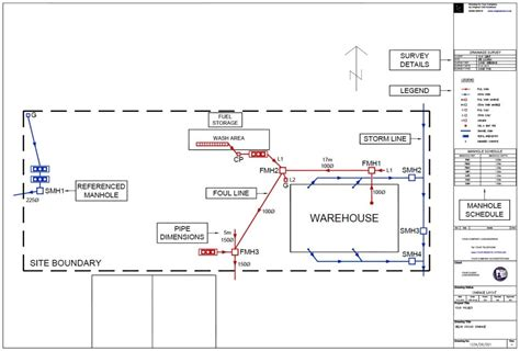 drainage layout my house site plans for drainage original cad solutions