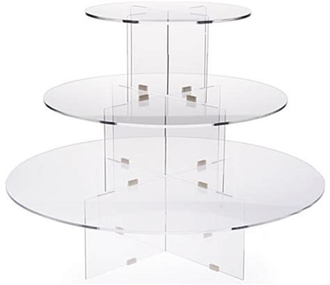 table top display risers 3 tier riser clear acrylic tabletop display