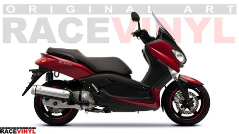 Wallpaper Sticker 125 yamaha xmax 125 250 400 racevinyl stickers with logos racevinyl europe