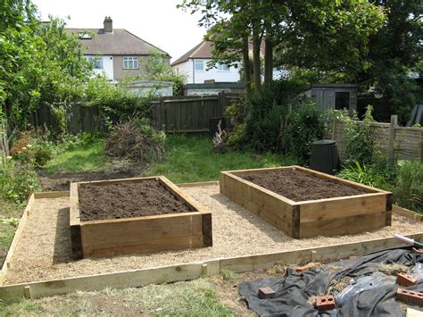 Using Landscape Timbers For Raised Beds Raised Bed Timber Raised Beds 11 300x224 Timber Raised