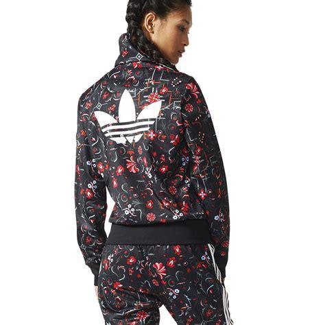 Jaket Adidas Floral adidas women s floral print firebird track jacket ab2124 new