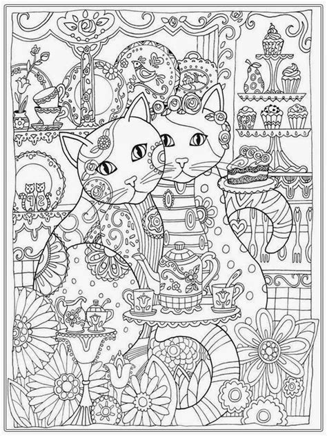 coloring books for adults cat coloring pages for realistic coloring pages
