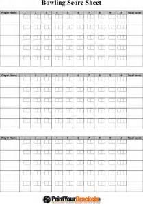 bowling score sheet template bowling score sheet free premium templates