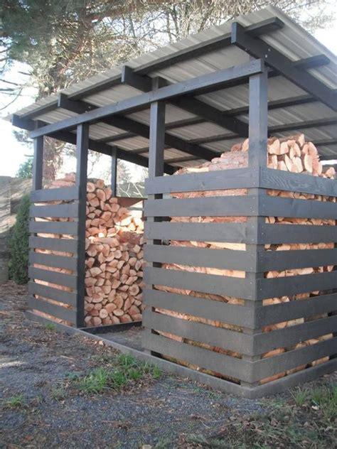 unterstand brennholz kaminholz unterstand holz im garten gartenh 252 tten