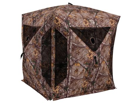 Realtree Blind ameristep brotherhood ground blind 82 x 82 x 72 polyester