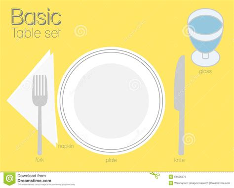 basic table setting pics for gt basic table setting