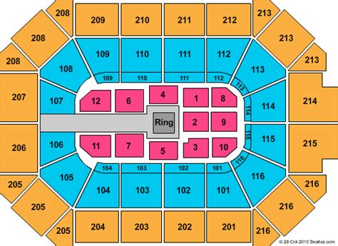 allstate arena seating chart tickets rosemont rosemont allstate arena tickets
