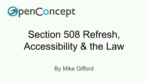section 508 law drupalcon baltimore 2017 section 508 refresh