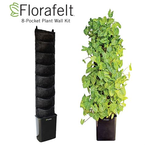 Florafelt Compact Vertical Garden Kit Green Living Plant Vertical Wall Garden Kits