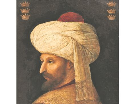 Sultans Of Ottoman Empire by Portrait Of Mehmed Ii The Conqueror Sultan Of