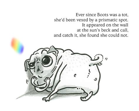 pug poems items similar to pug poetry boots spot pug poem print or greeting card