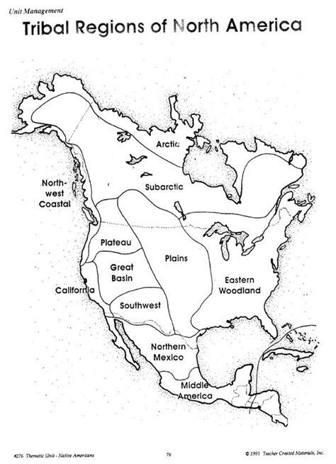 american regions map blank tribal regions american history