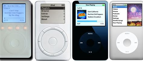 wallpaper ipod classic history of ipod from the first ipod and on