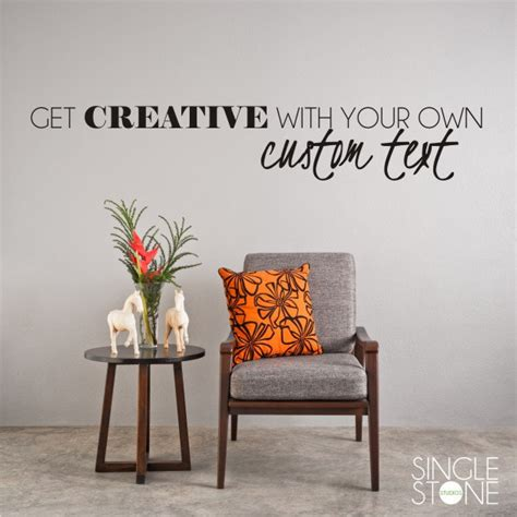 make your own wall sticker quotes custom wall decal quote create your own