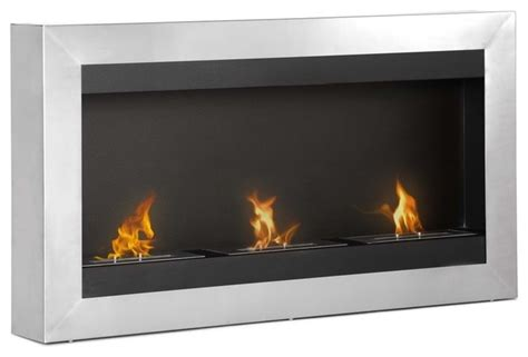 indoor wall fireplace magnum wall mounted ventless ethanol fireplace