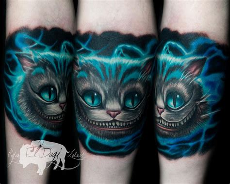 tattoo cat alice wonderland cheshire cat alice in wonderland by ryan el dugi lewis